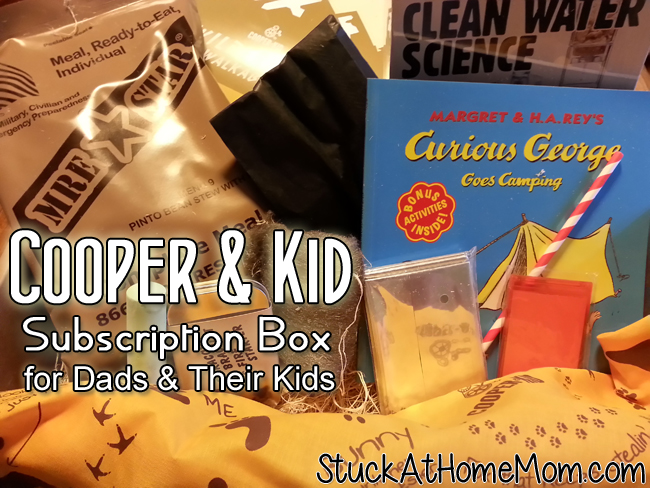 Cooper & Kid – Cooper Kit Subscription Box for Dads & Their Kids #cooperandkid