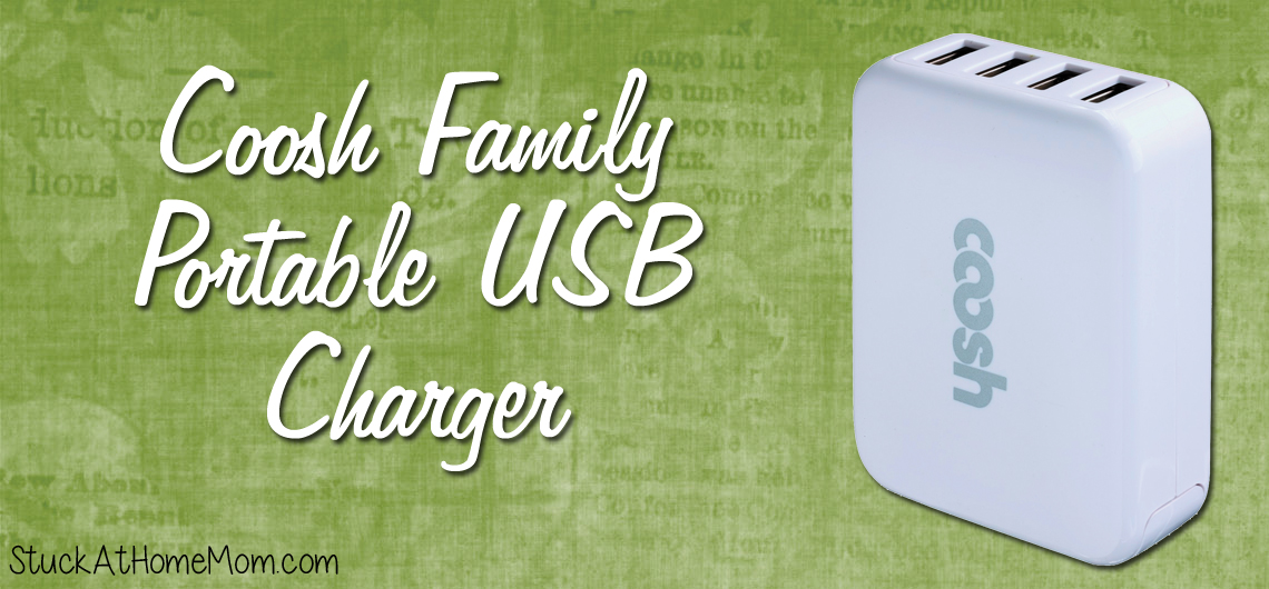 Coosh Family Portable USB Charger