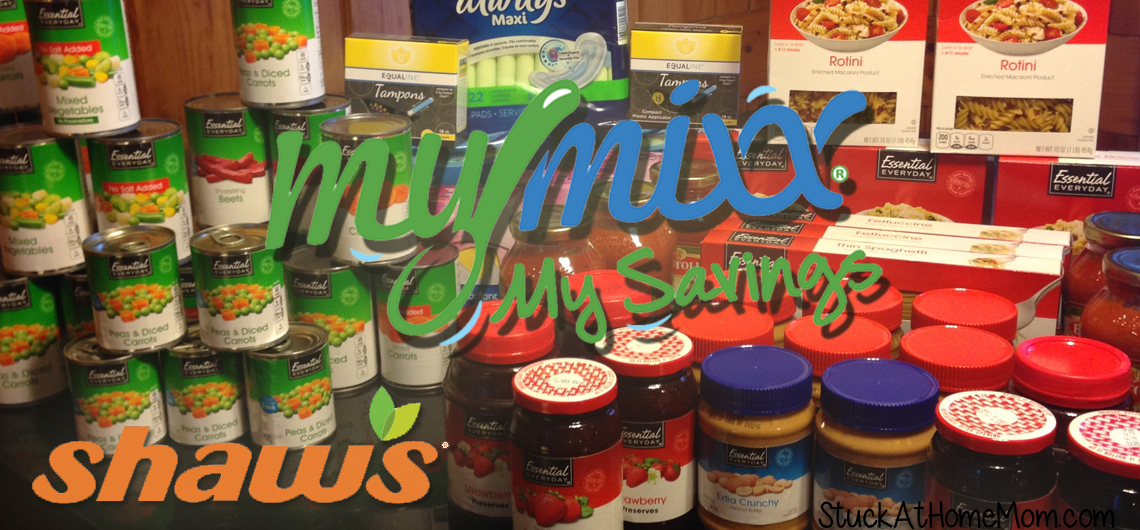 Donations to Food Pantry with Shaws MyMixx