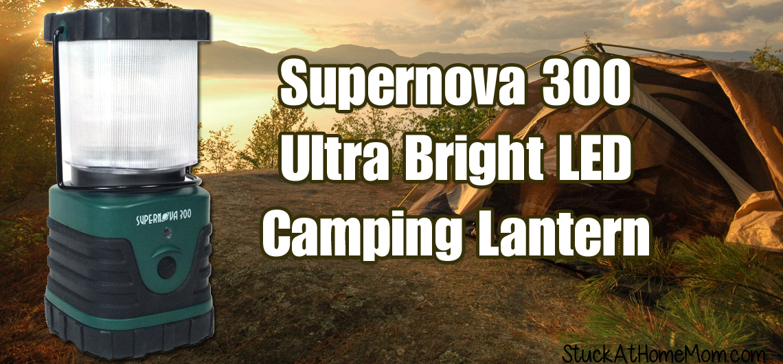 Supernova 300 Ultra Bright LED Camping Lantern