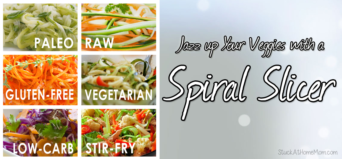 Jazz up Your Veggies with a Spiral Slicer – Giveaway #veryhealthy