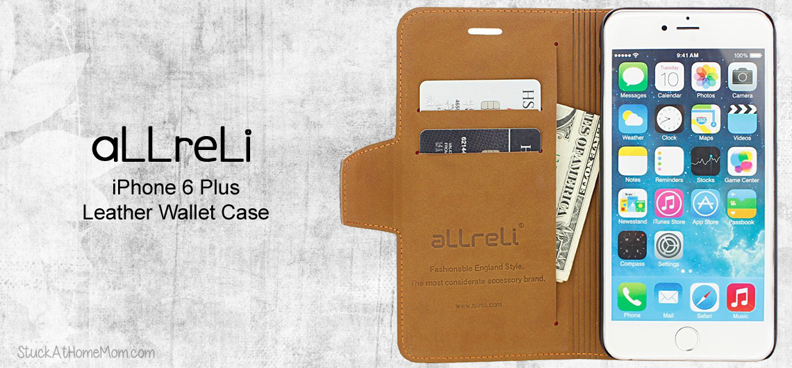 iPhone 6 Plus Leather Wallet Case – Protect your Investment #aLLreLi