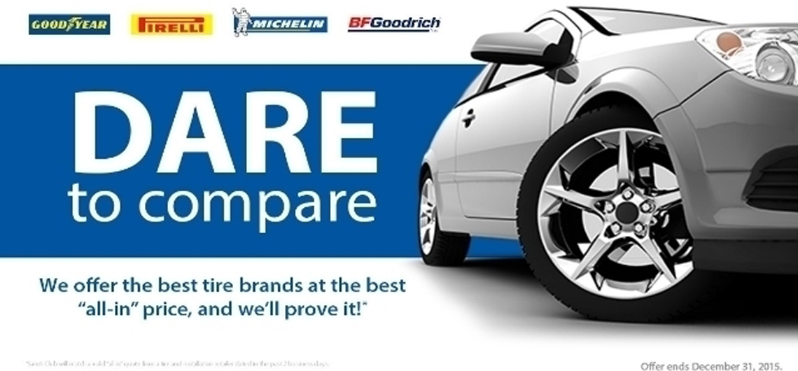Tire Deals and Tire Safety Tips for Great Summer Driving #DaretoCompare