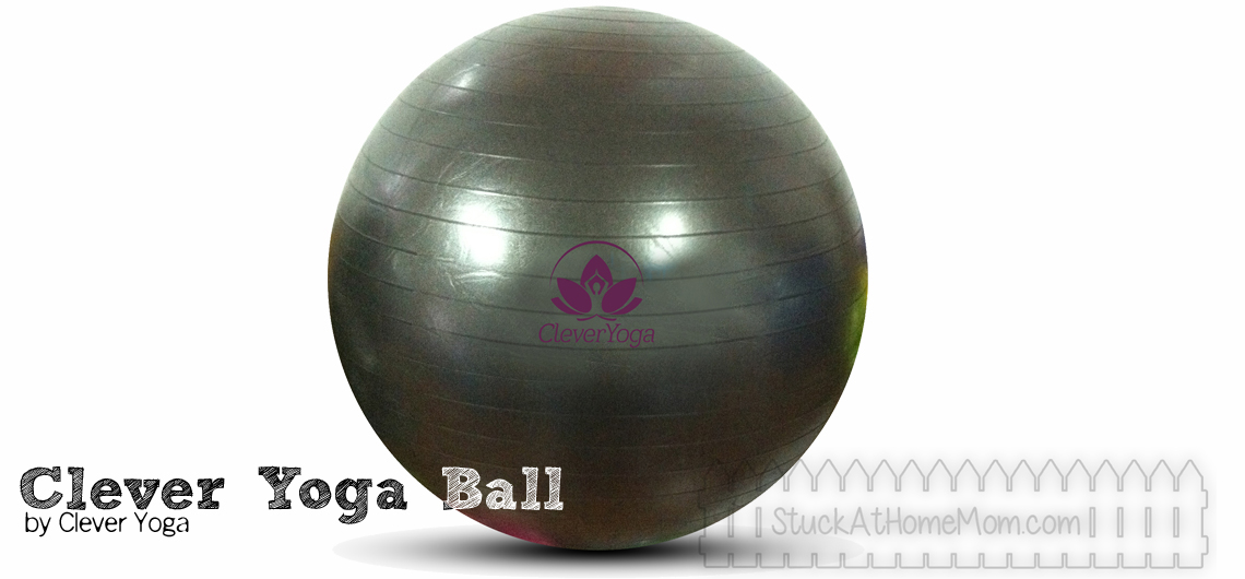 The Clever Yoga Ball and Hand Towel Combo #CleverYogaBall