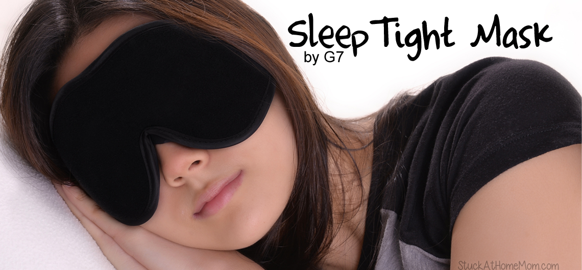 7 Strategies for Better Sleep #sleeptightmaskbyg7