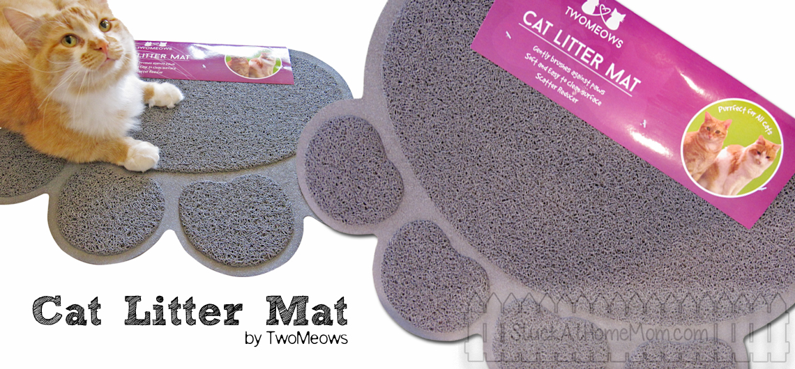 Two Meows Cat Litter Mat #TwoMeows