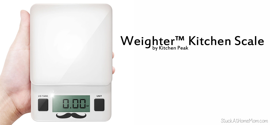 Use a Kitchen Scale for Accuracy and Easy #WeighterKitchenScale