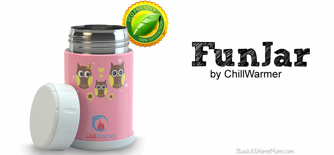 The FunJar Stainless Steel Food Jar #funjar4life