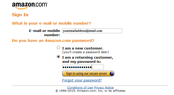 how to email seller on amazon