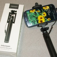 Selfie Stick Intcrown Self-portrait Monopod Extendable Selfie Stick