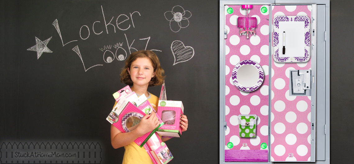Interior Decoration for Lockers: Useful and Fun for Your Daughter #LockerLookz