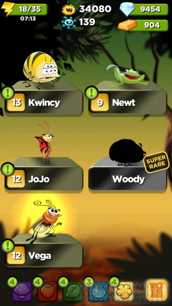 Best Fiends Yellow