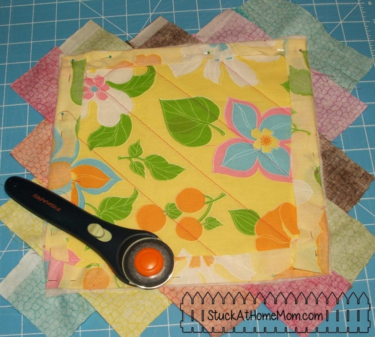 How to Quilt As You Go