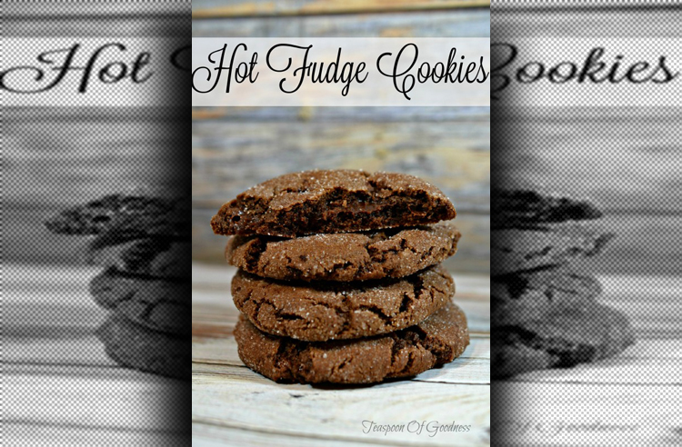 Hot Fudge Cookies