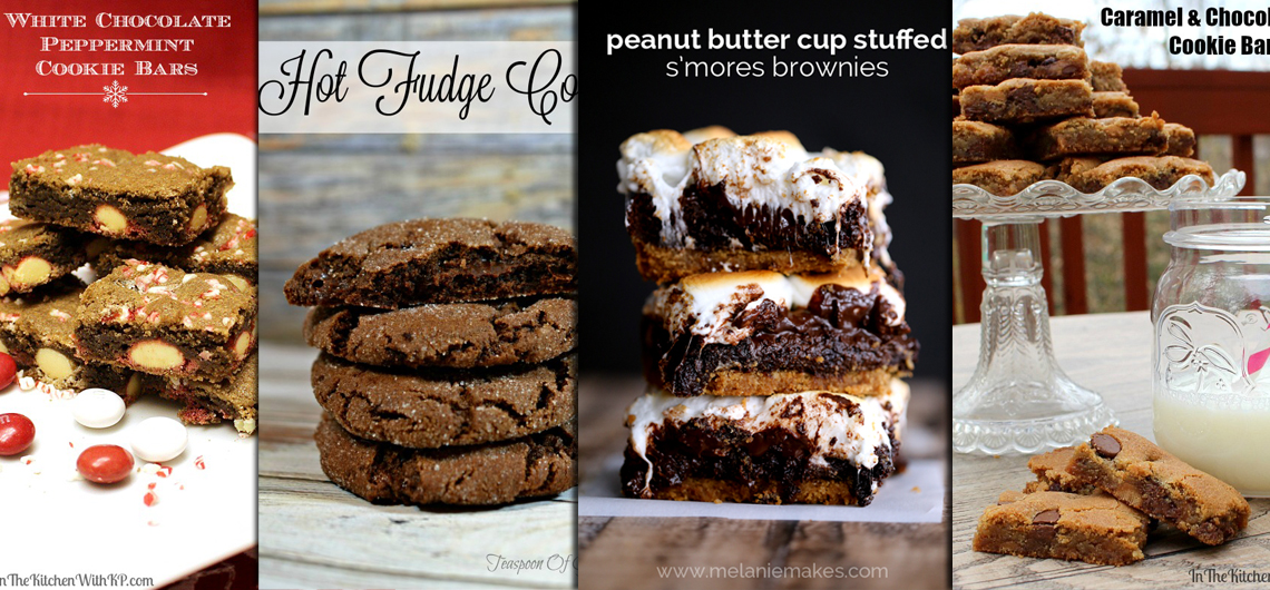 14 Cookie, Brownie and Bar Recipes