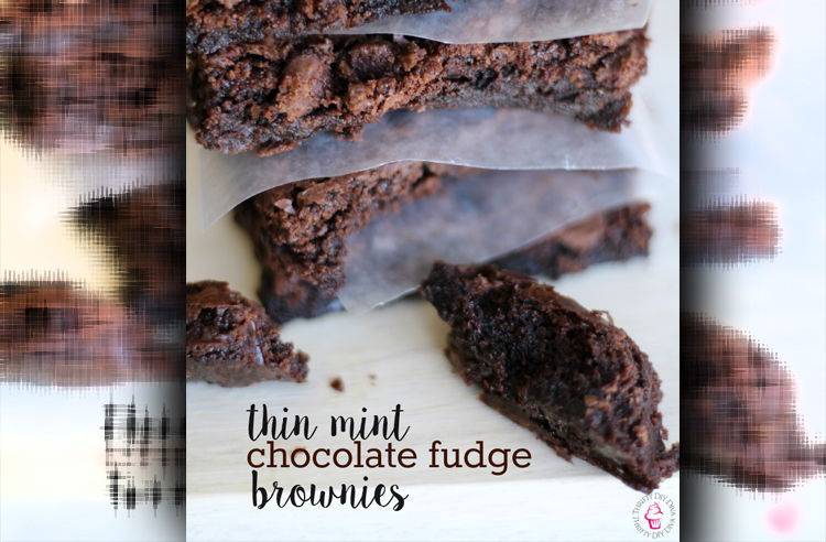 Peppermint Chocolate Fudge Brownies With Essential Oils
