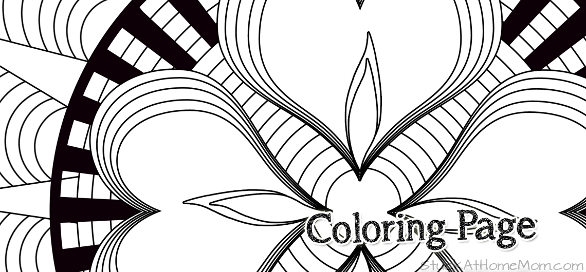 My First Coloring Page Creation!