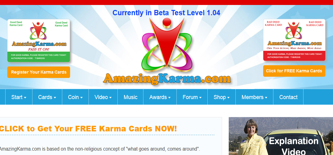 Building Good Karma with AmazingKarma.com
