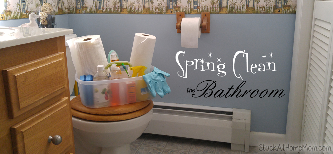 Spring Clean the Bathroom Kimberly Clark