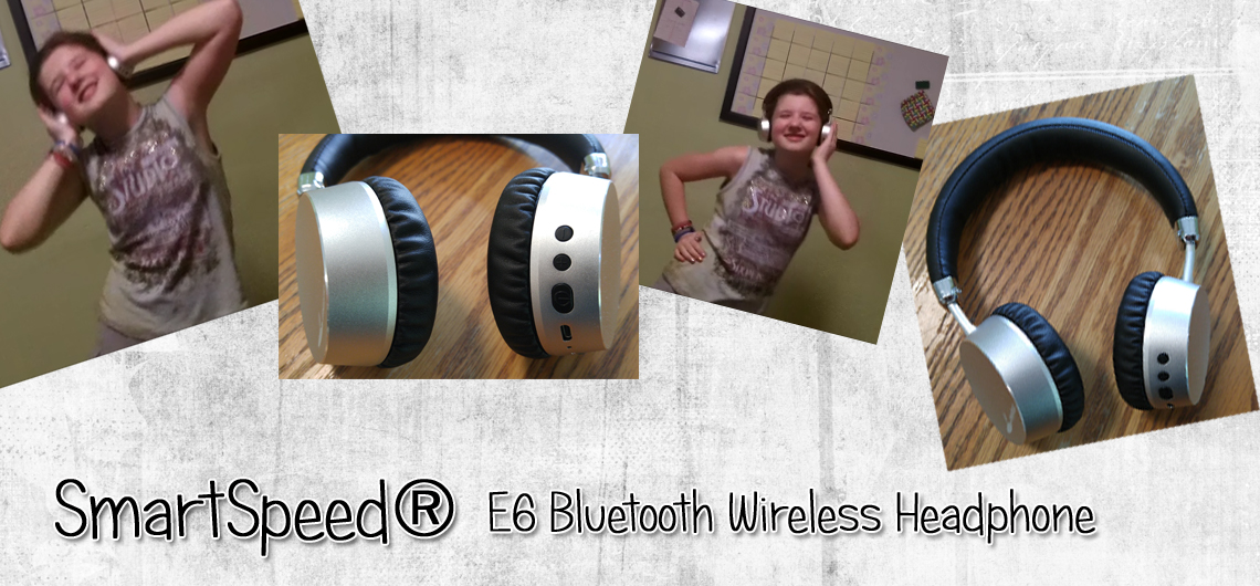 SmartSpeed® E6 Bluetooth Wireless Headphones