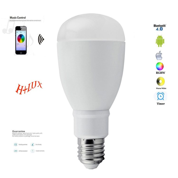 Bluetooth Smart LED Light Bulb App Remote Controlled