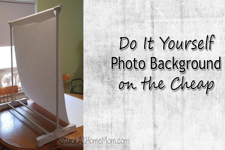 DIY Photo Background on the Cheap