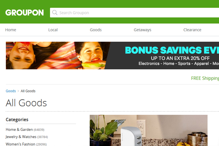 Save Money on the Things You Love with Groupon Goods #Groupon #ad