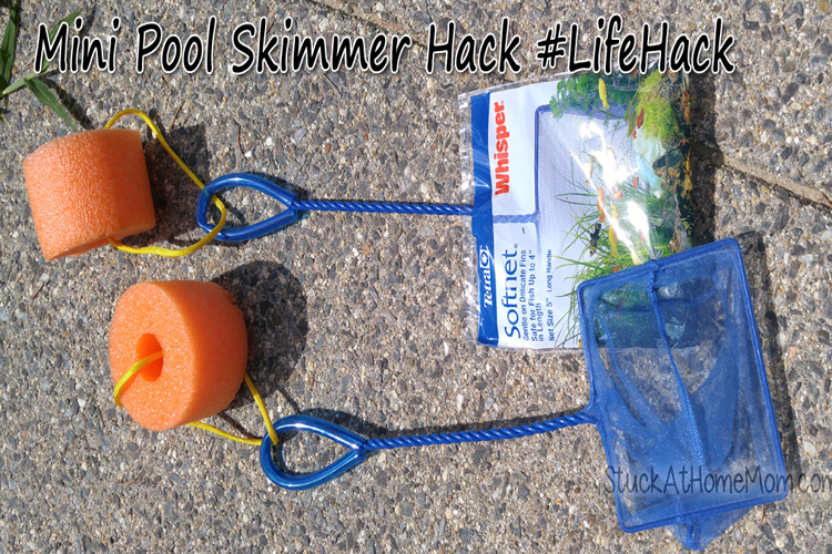 ​Mini Pool Skimmer Hack #LifeHack
