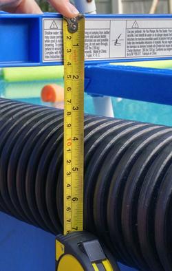 WARNING Intex Unsafe Non-platform Ladders