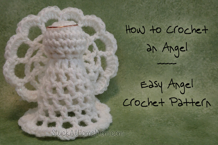 How to Crochet an Angel – Easy Angel Crochet Pattern – My First Crochet Angel Pattern