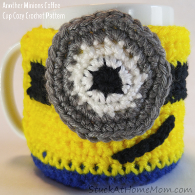 Another Minions Coffee Cup Cozy Crochet Pattern