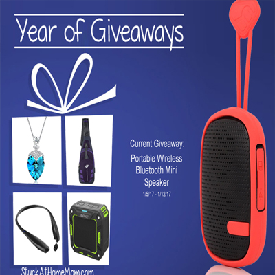 Portable Wireless Bluetooth Mini Speaker Giveaway!! #YearOfGiveaways