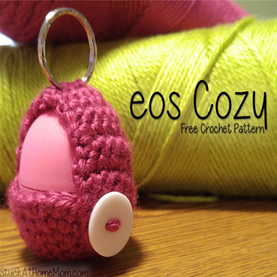 eos Lip Balm Cozy Free Crochet Pattern