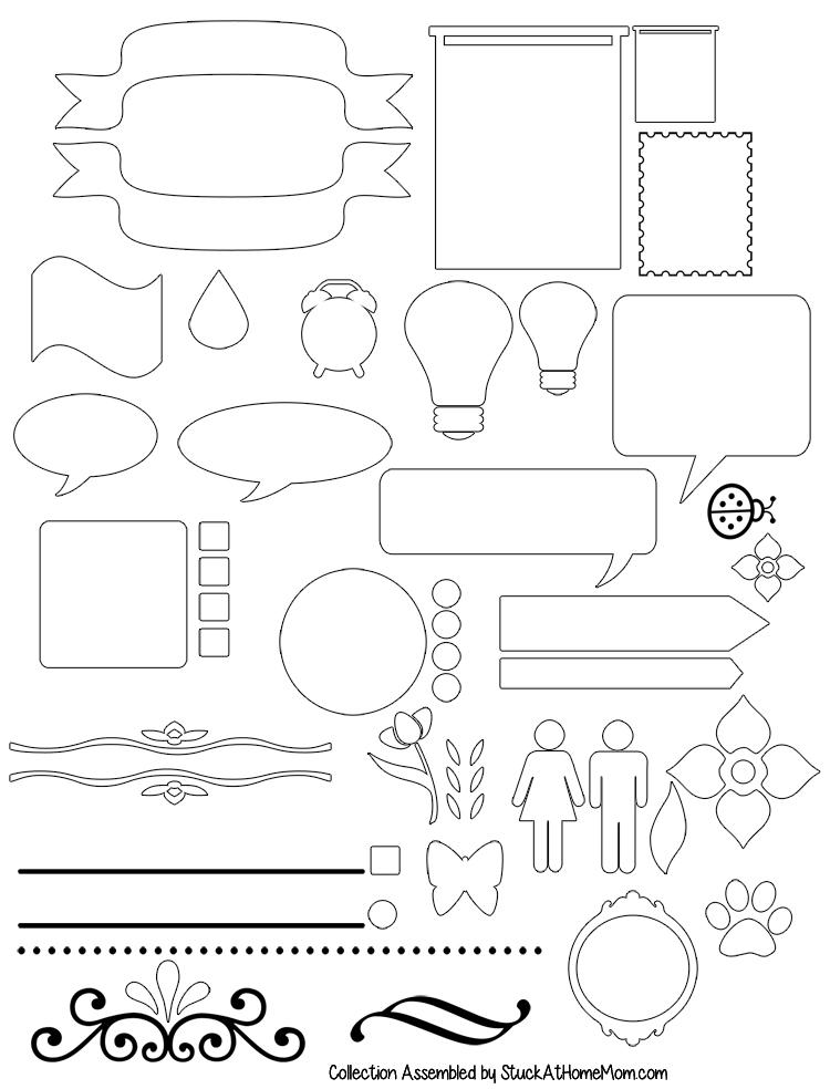 Bullet Journal -  Free Printable Starter Kit #BulletJournal