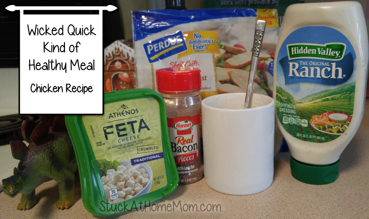 Wicked Quick Kind of Healthy Meal - Chicken Recipe