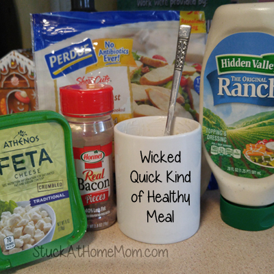 Wicked Quick Kind of Healthy Meal – Chicken Recipe