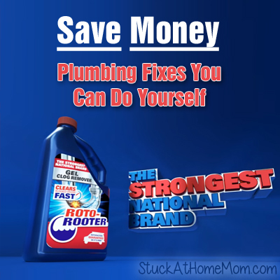Save Money: Plumbing Fixes You Can Do Yourself #RotoRooter #ad