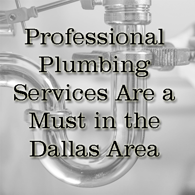 Professional Plumbing Services Are a Must in the Dallas Area