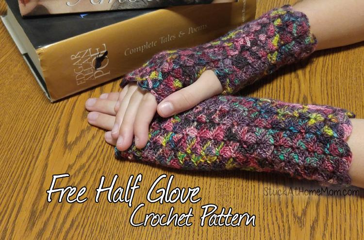 Free Half Glove Crochet Pattern #Gorgeous Half Gloves