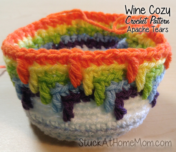 Crochet Wine Cozy Pattern