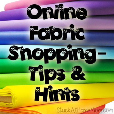 Online Fabric Shopping – Tips & Hints
