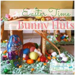 Easter Time Bunny Huts