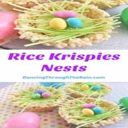 Rice Krispies Nests