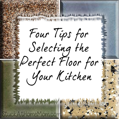 Four Tips for Selecting the Perfect Floor for Your Kitchen