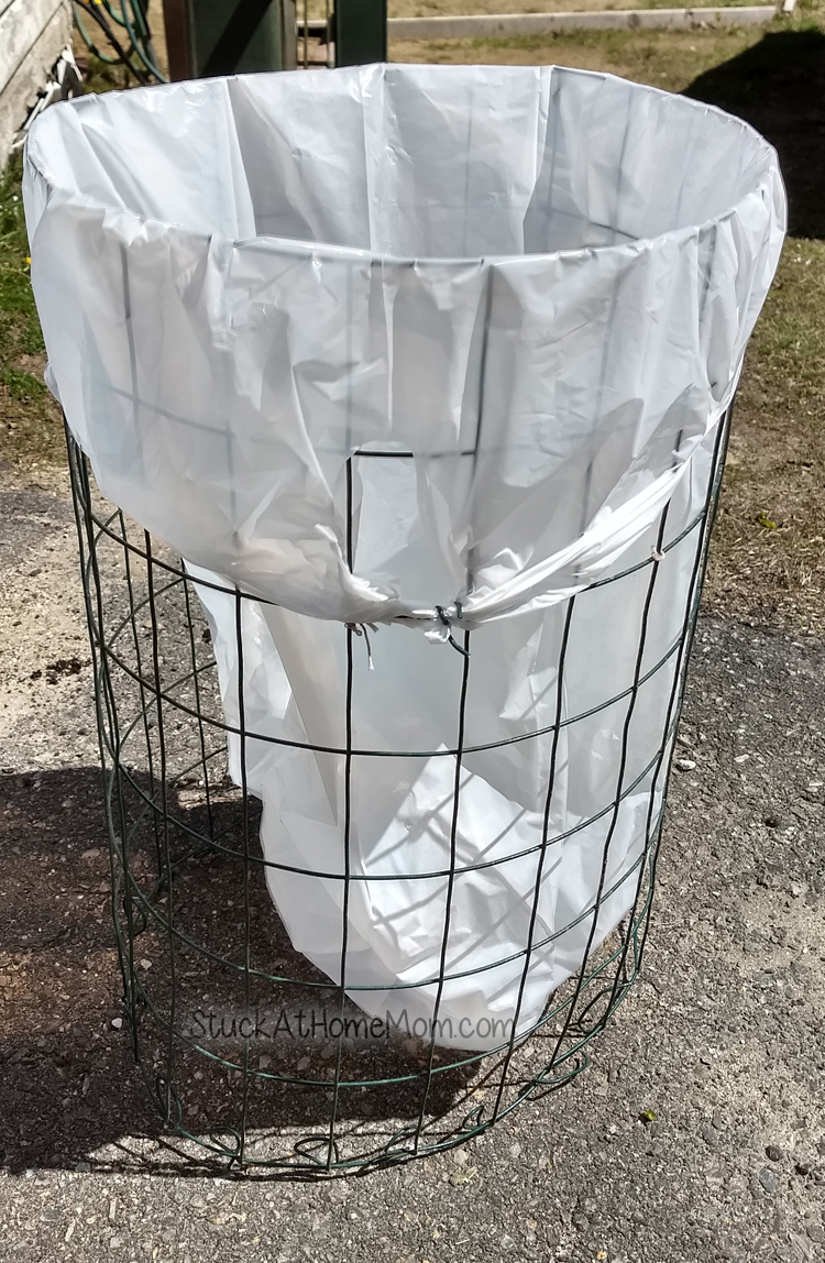 How to Plant Potatoes in a Trash Bag