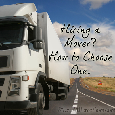 Hiring a Mover – How to Choose One