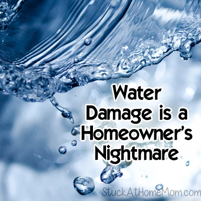 Water Damage is a Homeowner's Nightmare