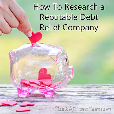 How To Research a Reputable Debt Relief Company