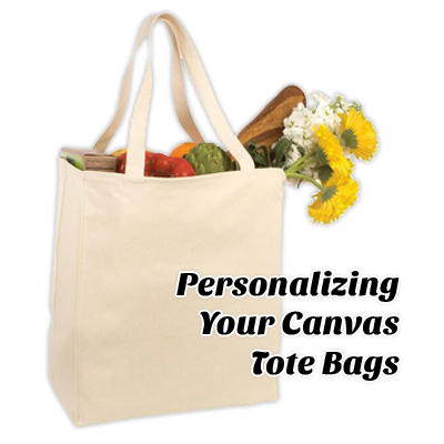 Personalizing Your Canvas Tote Bags