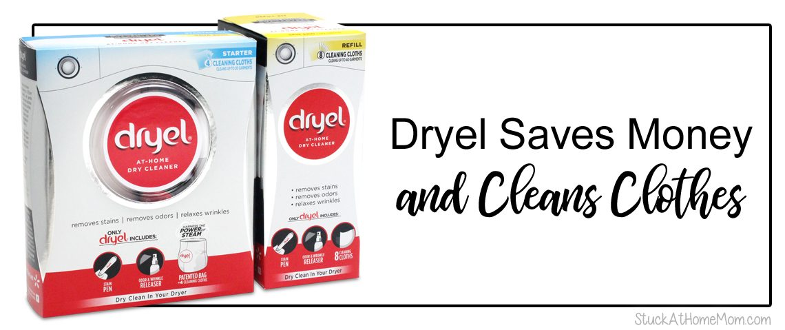 Dryel Saves Money and Cleans Clothes!